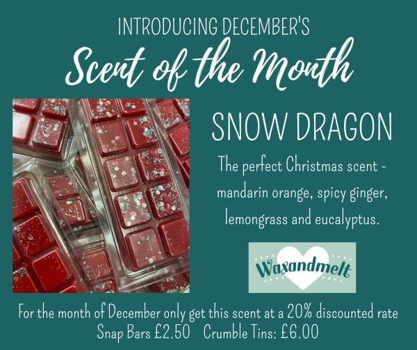 DECEMBER SCENT OF THE MONTH