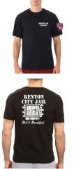 Kenyon Police Department Shop with a COP short sleeved tee