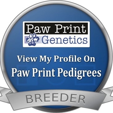 Pawprint Genetics Breeder Badge