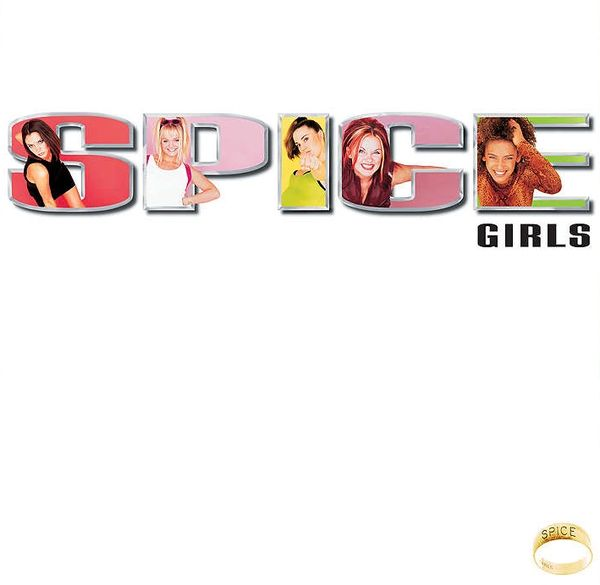 SPICE GIRLS SPICE LIMITED EDITION WHITE LP