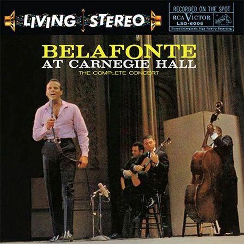 HARRY BELAFONTE BELAFONTE AT CARNEGIE HALL THE COMPLETE CONCERT 180G 2LP