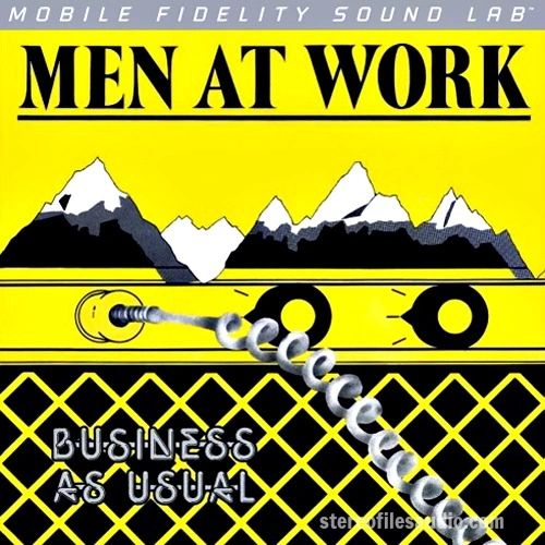 MEN AT WORK BUSINESS AS USUAL NUMBERED LIMITED EDITION