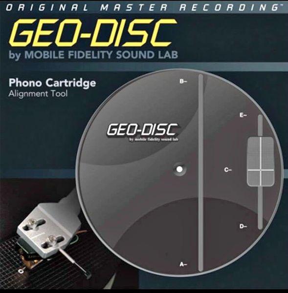MOBILE FIDELITY GEO DISC CARTRIDGE ALIGNMENT DISC