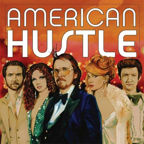 AMERICAN HUSTLE OST 150G 2LP (RED AND BLUE VINYL)