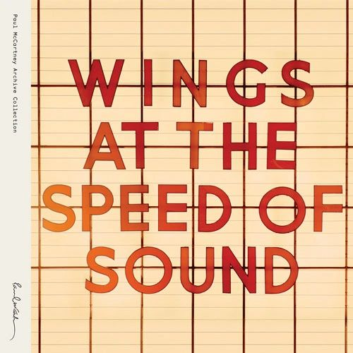 PAUL MCCARTNEY & WINGS AT THE SPEED OF SOUND 180G