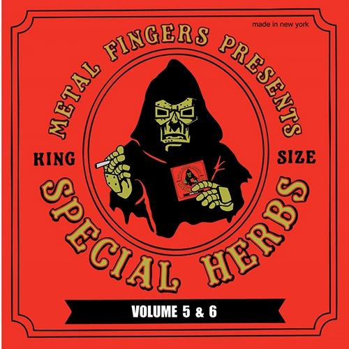 MF DOOM SPECIAL HERBS VOLUME 5 & 6 2LP PLUS LIMITED EDITION 7 INCH