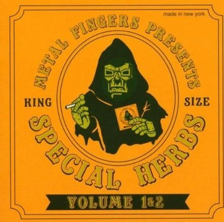 MF DOOM SPECIAL HERBS VOLUME 1 & 2 2LP WITH LIMITED EDITION 7 INCH