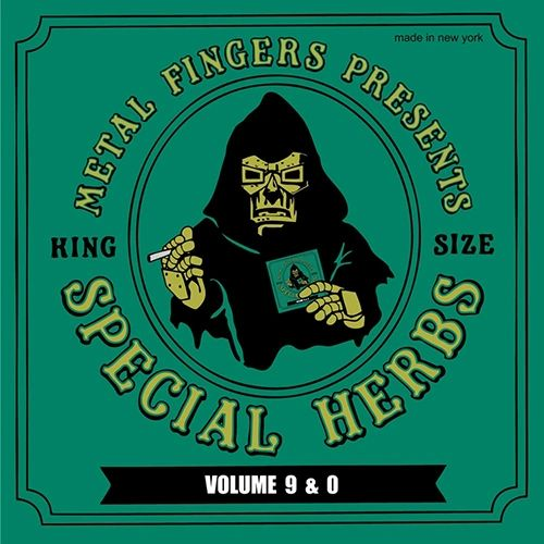 MF DOOM SPECIAL HERBS VOL. 9 & 0 2LP WITH LIMITED EDITION 7INCH