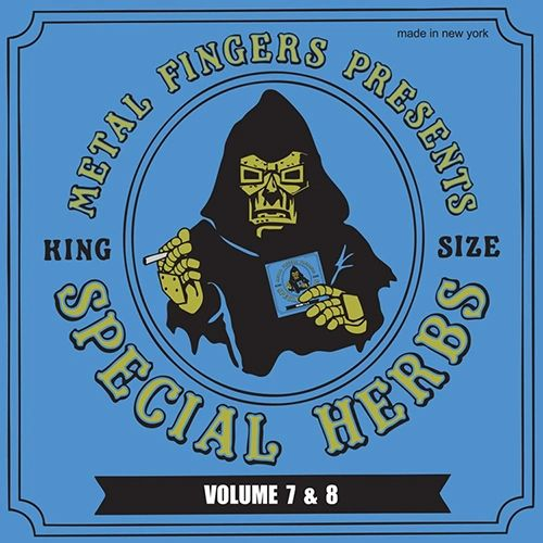 MF DOOM SPECIAL HERBS VOL. 7 & 8 2LP WITH LIMITED EDITION 7INCH