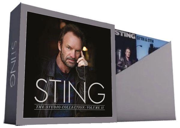 STING THE STUDIO COLLECTION VOLUME II 180G 5LP BOX SET