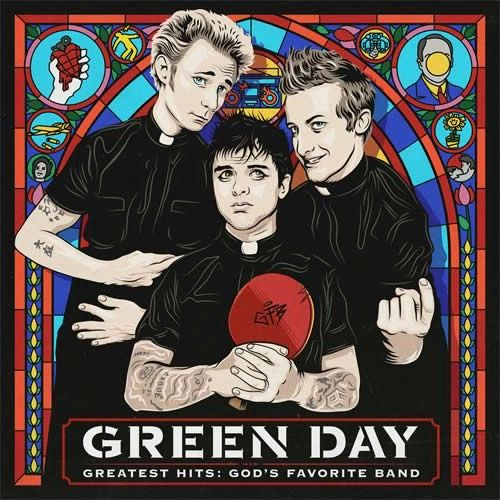 GREEN DAY GREATEST HITS: GOD'S FAVORITE BAND 2LP