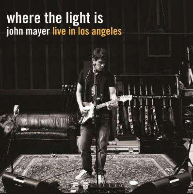 JOHN MAYER WHERE THE LIGHT IS 180G 4LP