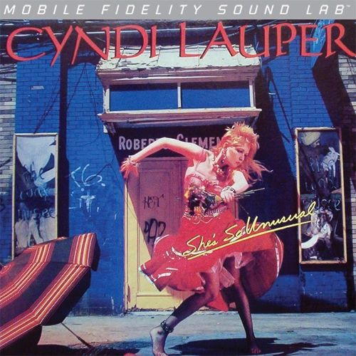 CYNDI LAUPER SHE'S SO UNUSUAL NUMBERED LIMITED EDITION