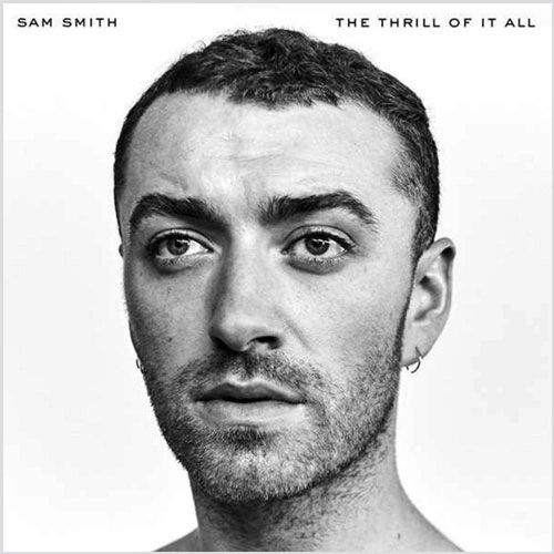 SAM SMITH THE THRILL OF IT ALL WHITE LP