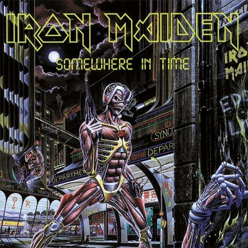 IRON MAIDEN SOMEWHERE IN TIME LIMITED EDITION PICTURE DISC