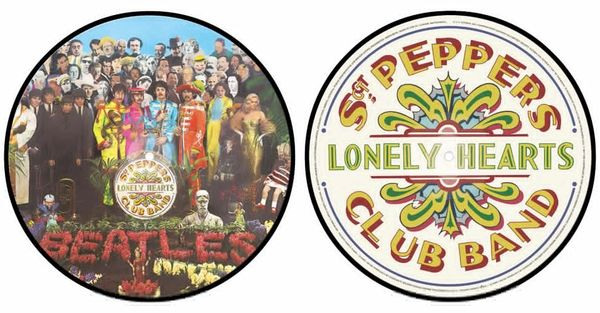 BEATLES SGT. PEPPERS LONELY HEARTS CLUB BAND PICTURE DISC
