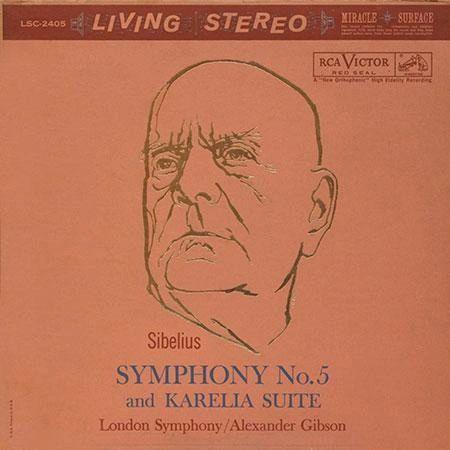 SIBELIUS SYMPHONY NO. 5 AND KARELIA SUITE 200G