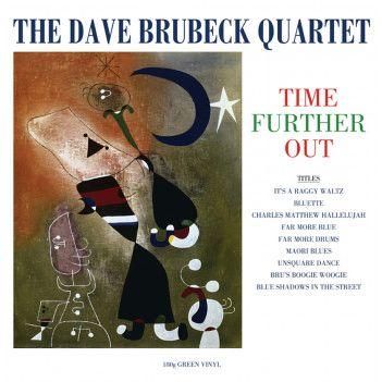 DAVE BRUBECK QUARTET TIME FURTHER OUT 180G GREEN LP