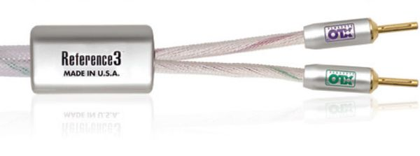 XLO REFERENCE 3 SPEAKER CABLE 8FT. BANANA PLUGS PAIR
