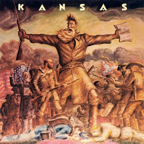 KANSAS KANSAS 180G GOLD & BLUE SWIRL LP