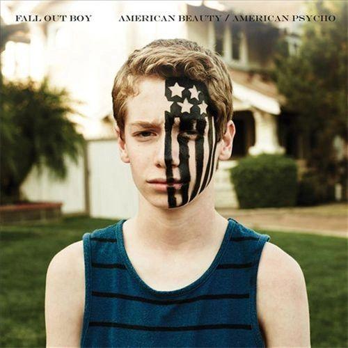 FALL OUT BOY AMERICAN BEAUTY / AMERICAN PSYCHO BLUE VINYL