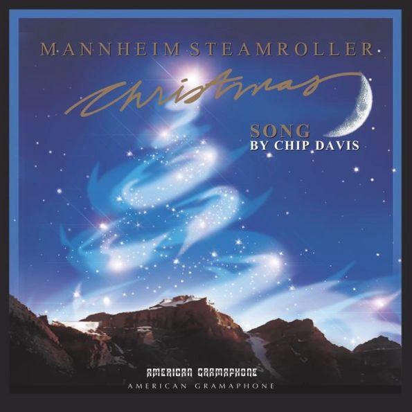 MANNHEIM STREAMROLLER CHRISTMAS SONG BLUE LP