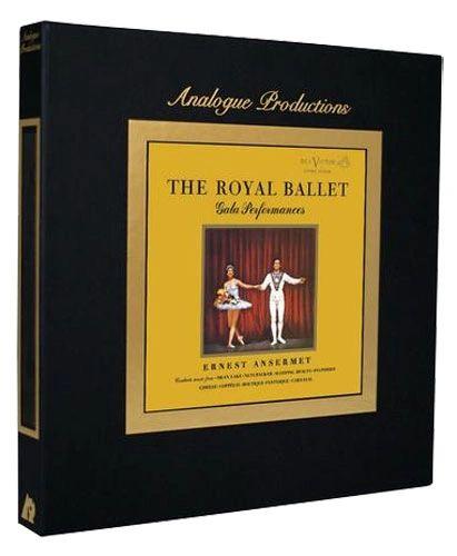 ERNEST ANSERMET THE ROYAL BALLET GALA PERFORMANCES 200G 45RPM 5LP BOX SET