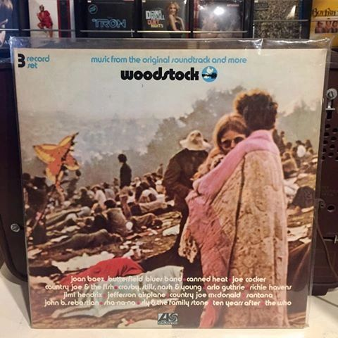 WOODSTOCK - MUSIC FROM THE ORIGINAL SOUNDTRACK AND MORE 3LP (PRE-OWNED)