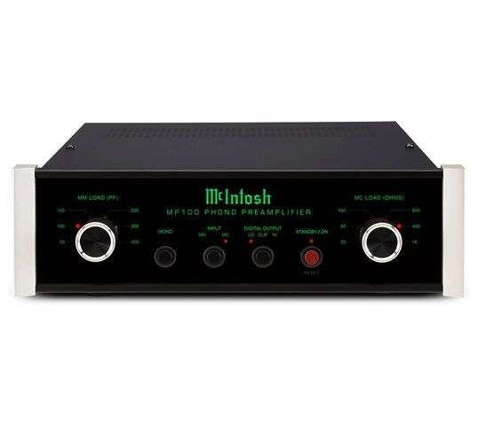 MCINTOSH MP100 2 CHANNEL SOLID STATE PHONO PREAMP