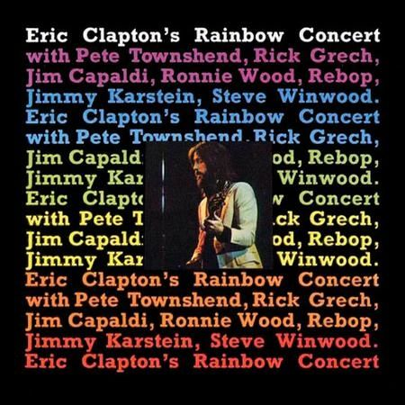 ERIC CLAPTON RAINBOW CONCERT LIMITED EDITION 180G QRP PRESSING