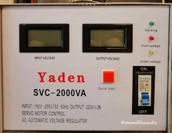YADEN 2000W DIGITAL AVR (SERVO)