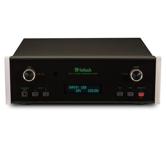 MCINTOSH C47 2-CH SOLID STATE STEREO PREAMPLIFIER