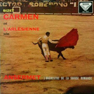 BIZET CARMEN & L'ARLESIENNE 180G