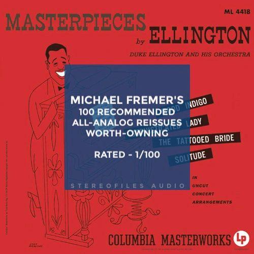 DUKE ELLINGTON MASTERPIECES BY DUKE ELLINGTON 200G 45RPM 2LP