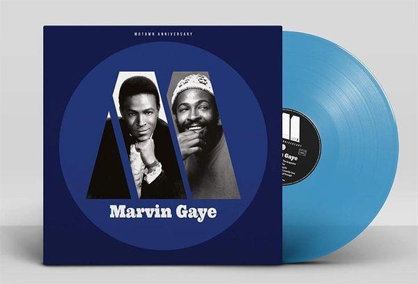 MARVIN GAYE MOTOWN ANNIVERSARY: MARVIN GAYE LP BLUE VINYL
