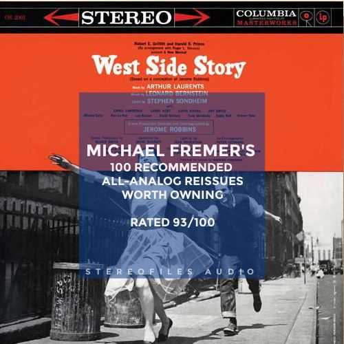 WEST SIDE STORY SOUNDTRACK (ORIGINAL BROADWAY CAST) 180G 2LP