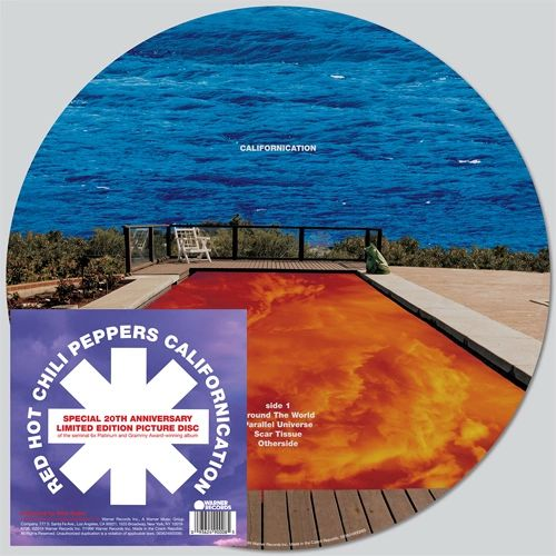 RED HOT CHILI PEPPERS CALIFORNICATION 2LP PICTURE DISC