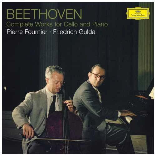BEETHOVEN COMPLETE WORKS FOR CELLO & PIANO / FOURNIER, GULDA HALF-SPEED MASTERED 180G 3LP BOX SET