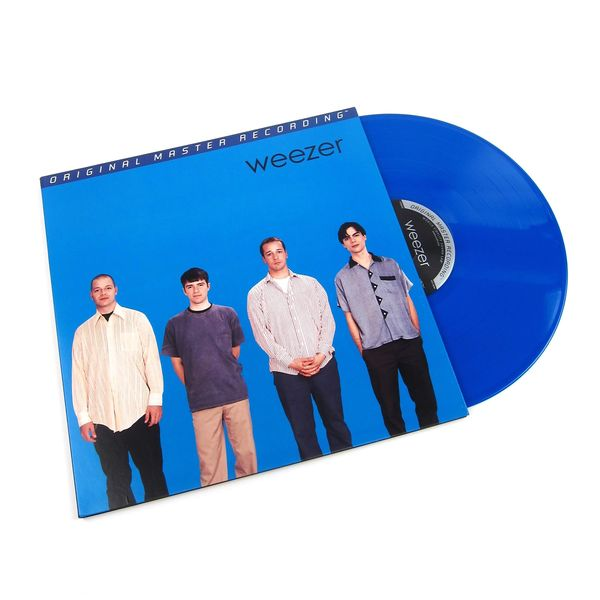 WEEZER WEEZER (BLUE ALBUM) NUMBERED LIMITED EDITION BLUE COLORED LP 180G