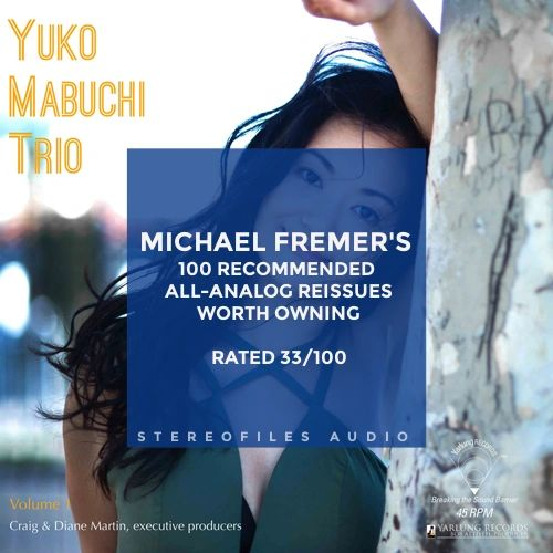 YUKO MABUCHI TRIO VOLUME 1 180G 45RPM (PALLAS RESSING)
