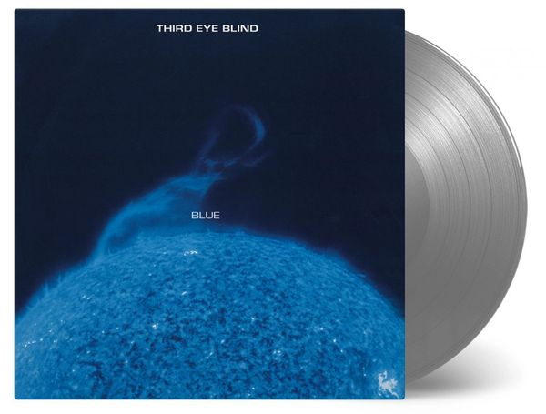 THIRD EYE BLIND BLUE 180G 2LP NUMBERED LIMITED EDITION OF SILVER LP