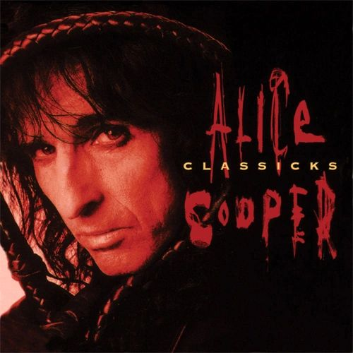 ALICE COOPER CLASSICKS: THE BEST OF ALICE COOPER 180G TRANSLUCENT RED BLACK SWIRL VINYL