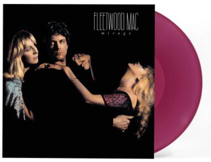 FLEETWOOD MAC MIRAGE VIOLET COLORED LP