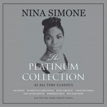 NINA SIMONE PLATINUM COLLECTION 3LP WHITE VINYL