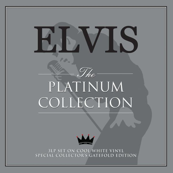 ELVIS PRESLEY THE PLATINUM COLLECTION 3LP WHITE VINYL