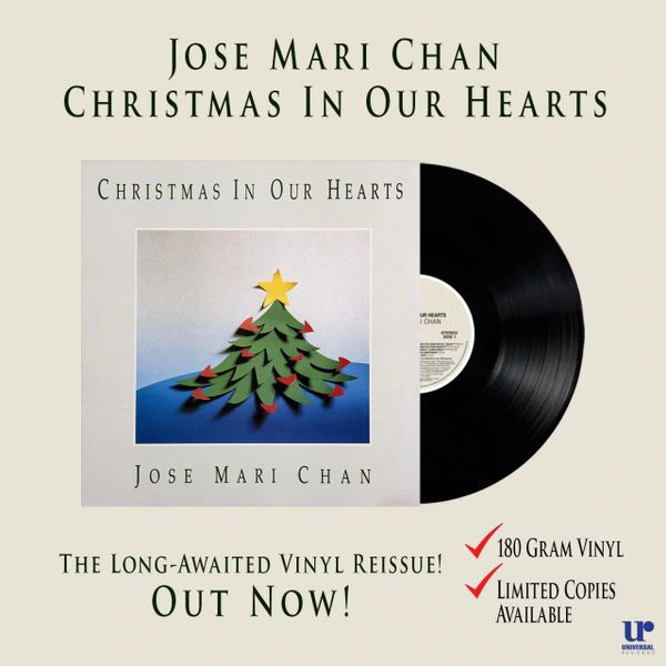JOSE MARI CHAN CHRISTMAS IN OUR HEARTS 180G LIMITED EDITION | Stereofiles Audio