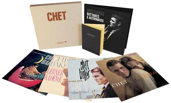 CHET BAKER THE LEGENDARY RIVERSIDE ALBUMS 180G 5LP BOX SET