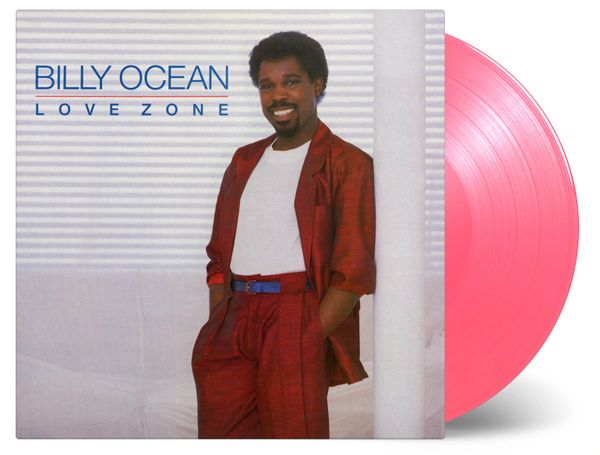 BILLY OCEAN LOVE ZONE 180G LIMITED EDITION ON TRANSPARENT PINK VINYL