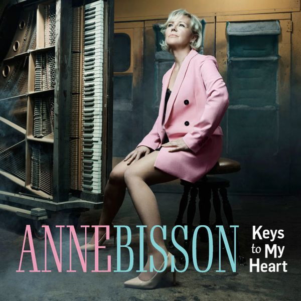 ANNE BISSON KEYS TO MY HEART ONE STEP HAND NUMBERED LIMITED EDITION 180G 45RPM 2LP