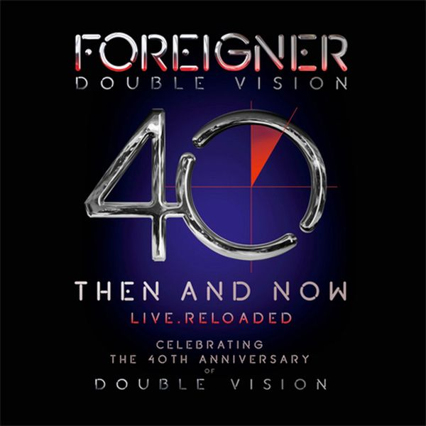 FOREIGNER DOUBLE VISION: THEN AND NOW LIVE 180G 2LP & BLURAY